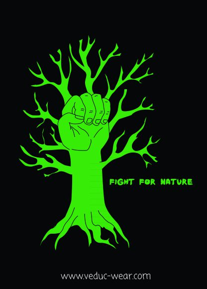 Sticker fight for nature