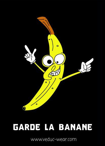 Stickers garde la banane