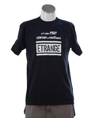 t-shirt personnage etrange