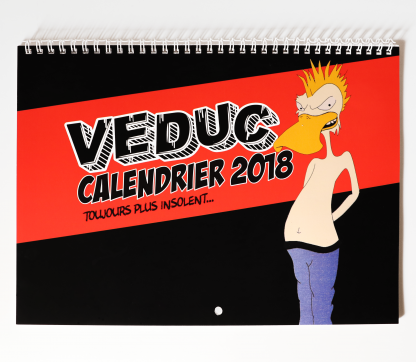 calendrier veduc 2018 cover